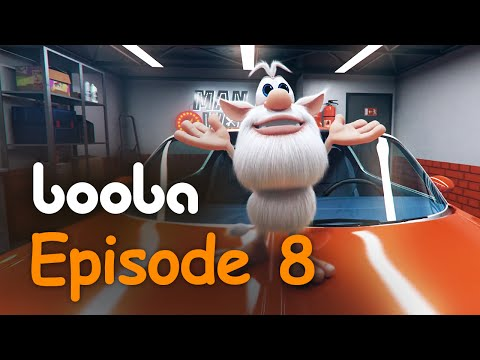 Booba Garage - Episode 8 - Funny cartoons for kids red sportcar буба KEDOO animations 4 Kids
