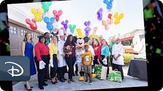 Six-year-old Jermaine Bell Surprised with Dream Walt Disney World Trip