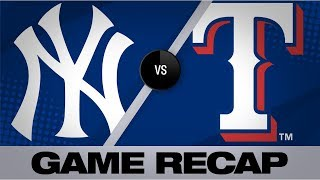 Lynn fuels Rangers' last win at Globe Life Park | Yankees-Rangers Game Highlights 9/29/19