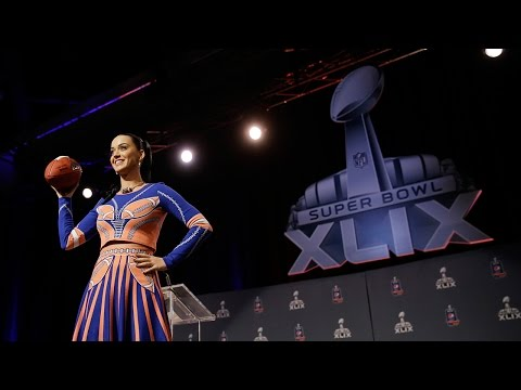 Katy Perry Super Bowl XLIX press conference highlights
