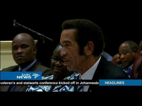 Ian Khama calls on Mugabe to quit