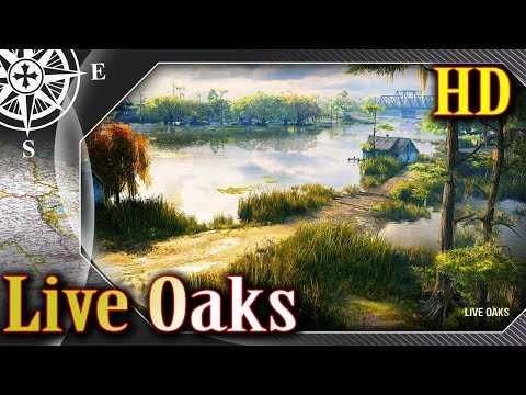 Live Oaks HD - Klimatyczne bagna - MAPA - World of Tanks