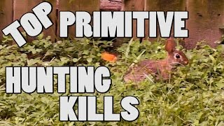[GRAPHIC] Top Primitive Hunting Kills - Blowgun, Bow, Slingshot, Spear and Rocks!