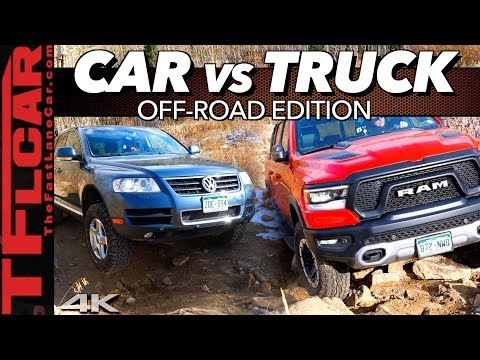 Car or Truck - What's Better Off-Road? Hint: Only One Makes It Up Cliffhanger 2.0!