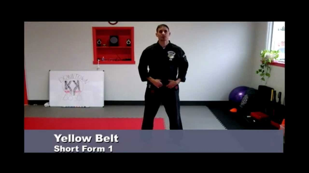 Yellow Belt Short Form 1