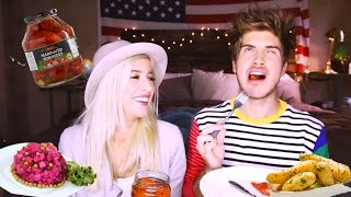 Tasting Weird Russian Foods w Joey Graceffa