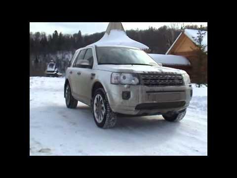 Партизанский тест-драйв (зимний) Land Rover Freelander 2