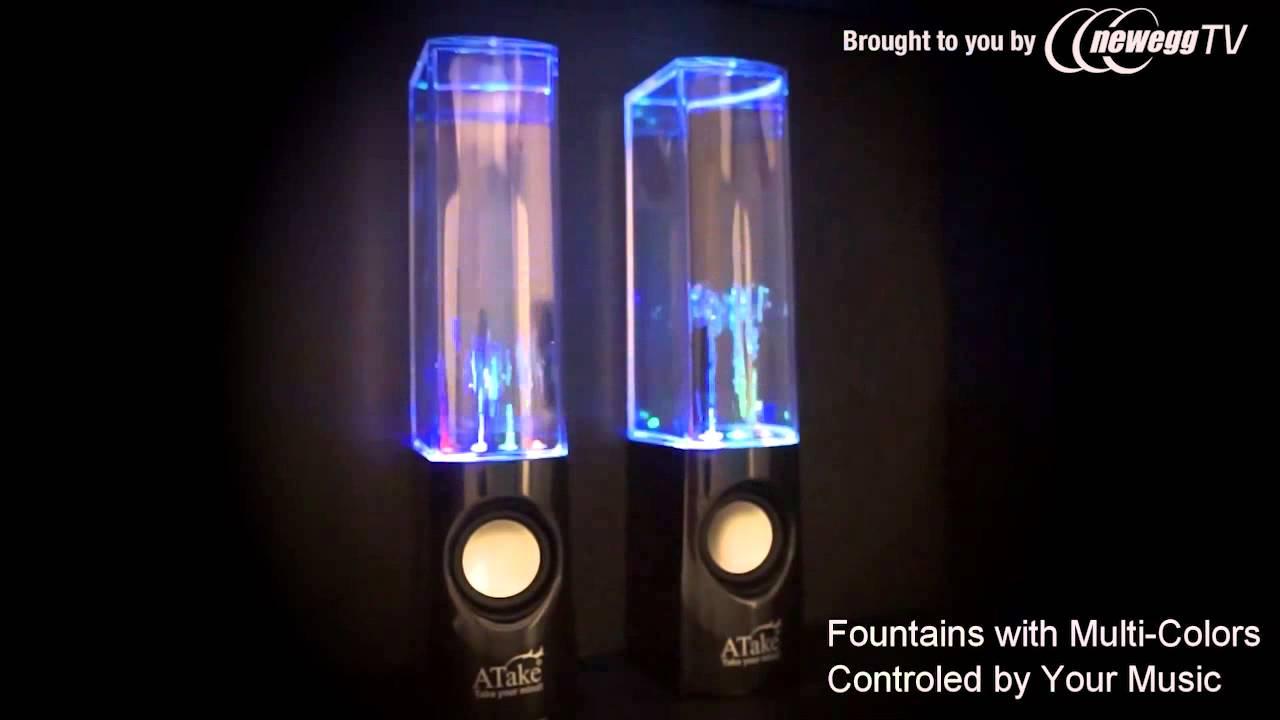 Neon Water Speakers Water Light Show Speaker