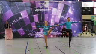 Johanna Bertz & Nino Kühne - Saar Kings Cup 2018