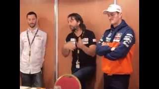 David Castera e Marc Coma con i debuttanti