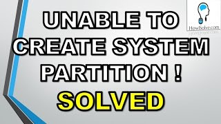 download lagu 100% Solved:setup Was Unable To Create A New System gratis