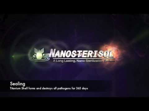 Nanosterisol Antimicrobial Coating