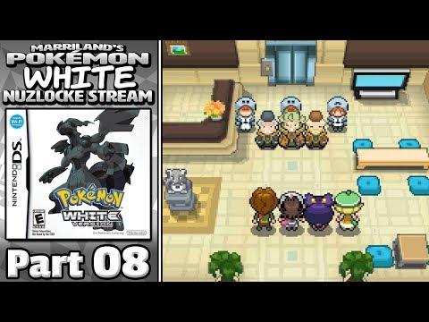 Pokémon White Nuzlocke Stream, Part 08 • Mar. 31, 2018 • STREAM ARCHIVE