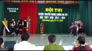 phần tự giới thiệu về ma tuý của trường DTNT Dak Song