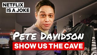 Pete Davidson Gives An Exclusive Tour Of His Basement Apartment | Netflix Is A Joke‬