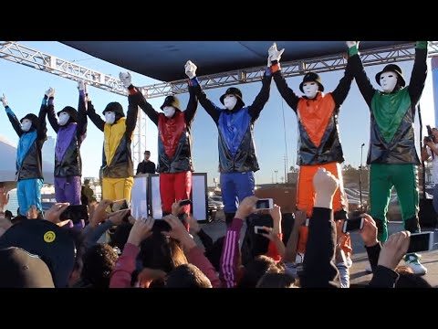 Jabbawockeez At Lv4ph Concert Relief video