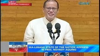 PNOY State of the Nation (SONA) July 28 (alt. video # 1)