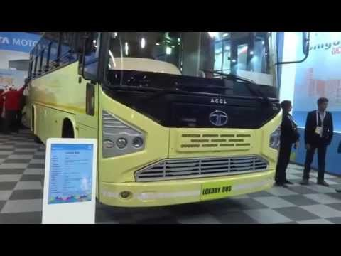 Tata Motors ACGL Luxury Bus at Bus & Special Vehicle Show