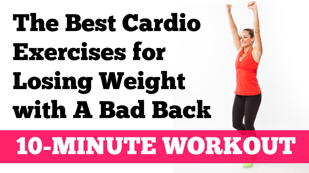 Best Cardio Workouts and Exercises for Bad Knees