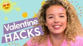 Valentine's Day Hacks: DIY Confetti Balloon, DIY Light Up Heart, Cookie Jar Alarm   GoldieBlox