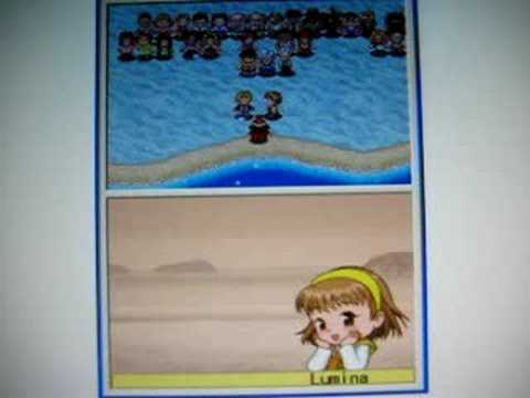 Harvest Moon DS Cute - Rock & Lumina Rival Marriage - YouTube