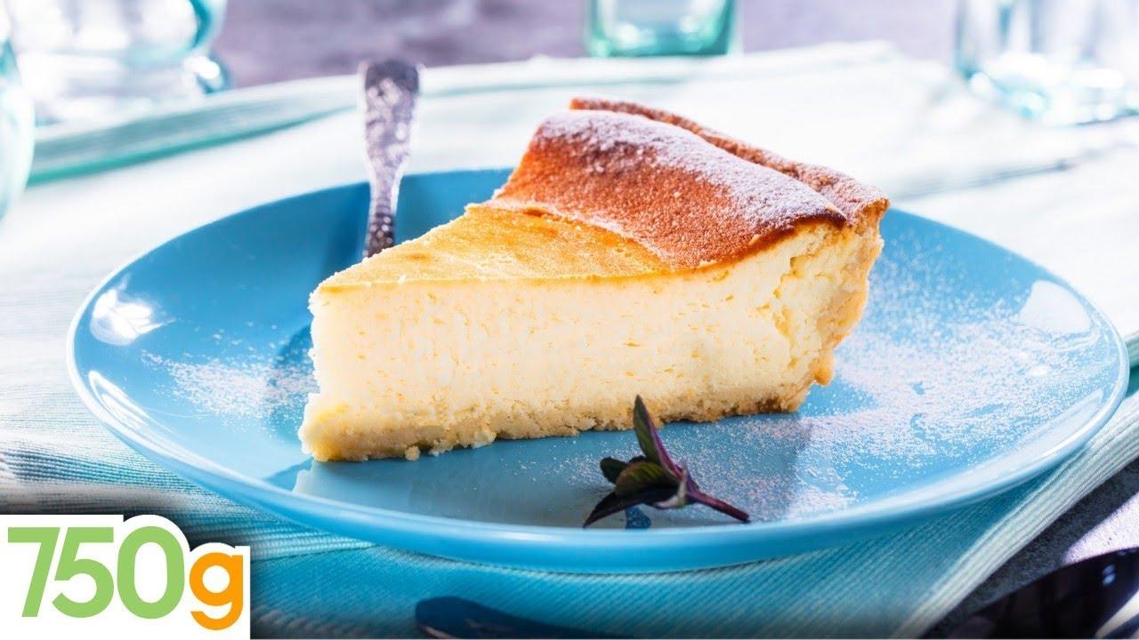 recette de tarte au fromage blanc 750 grammes