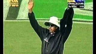 Virender Sehwag 108 vs New Zealand 2nd ODI 2002/03