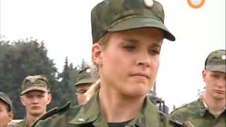 Female Russian Army Lieutenant