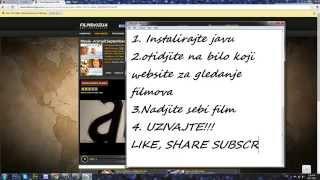 Kako gledati besplatno filmove na internetu? Evo kako!!!