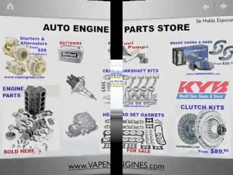 VAP Engines-Rebuilt Engines, Cylinder head repair, Alternator Repair, Engine Par