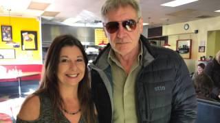 Harrison Ford visits Doo-Dah Diner