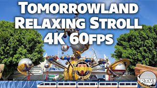 Disneyland Tomorrowland - Relaxing Stroll & Tour 2019 - 4K 60fps