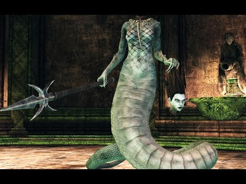 Dark Souls 2: Mytha Boss Fight (4K 60fps)