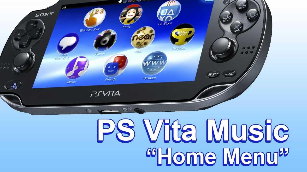Ps vita music home menu youtube for Vita house