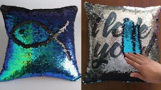 HomeLava Mermaid Sequins Pillow Cases