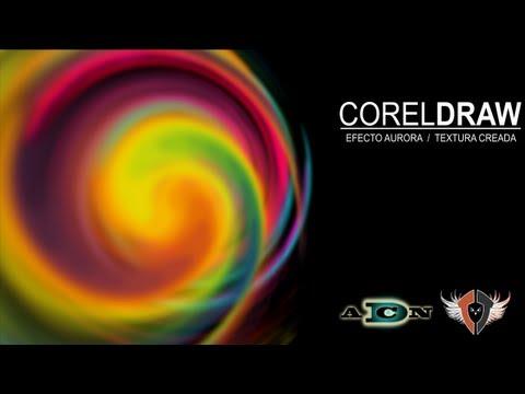 CorelDRAW, Efecto Aurora exclusivo de ADNDC/DESIGN (varias herramientas) @ADNDC @adan