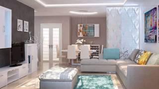 Modern living room → Living room design ➤ Living room furniture & Decor