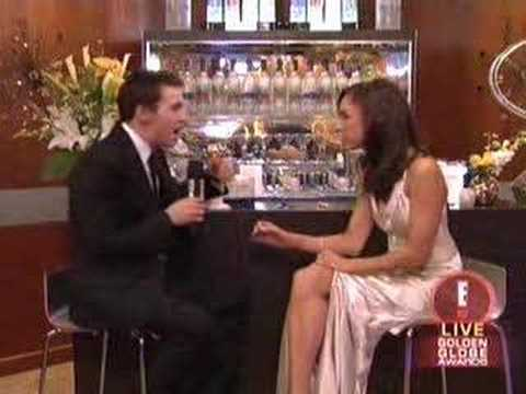 Jonathan Rhys Meyers on E! Post Golden Globes Show Video