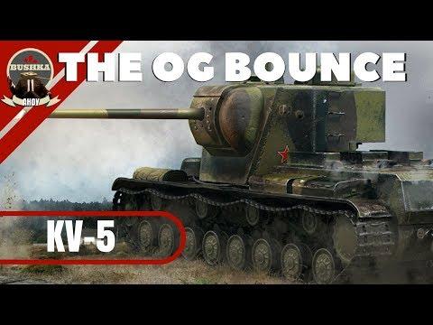 KV5 Bouncy Bank World of Tanks Blitz with Bushka