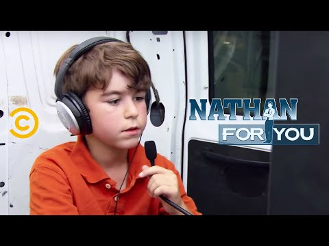 Nathan For You: Interview With A Seven Year Old