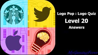 Logo Pop : Logo Quiz - Level 20 Answers