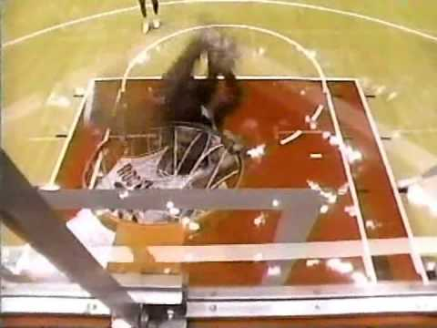 Robert Horry dunk twice
