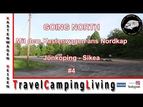 NORDKAP TOUR #4, PARKPLATZ JÖNKÖPING, FAHRT AN DEN STRAND BEI SIKEA