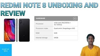 Redmi note 8 official unboxing and review