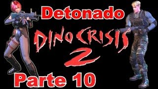 Detonado de Dino Crisis 2 (PS1) - Level Hard - Parte 10: Não Dave + Base Secreta da Selva
