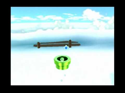 Super Mario Galaxy 2 - Freezy Flake Galaxy (Bowser on Ice) [50] Video