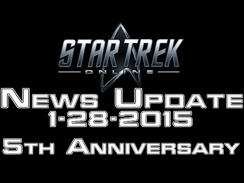 Star Trek Online - News - 5th Anniversary - 1-28-2015