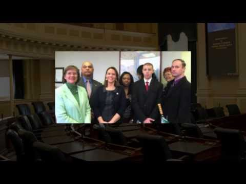 Rappahannock Community College Students visit the State Capital