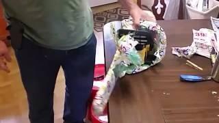 Dewalt 40 volt Cordless Electric Chainsaw Unboxing
