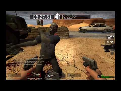 Left 4 Dead 8 Player Survivor Mode Hyper Ultra Mega Times 1 of 3 Music Videos